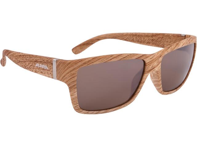 Alpina Kacey Cykelglasögon beige/brun